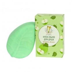 Крем-мыло для душа Зеленое яблоко 100 г. Greena Avocadova