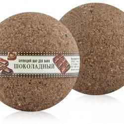 "Бурлящий шар ""Шоколадный"", 140 г. Клеона"