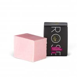 Rose шампунь-концентрат с шёлком и маслом розы 70гр. Мастерская Олеси Мустаевой